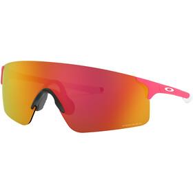 Oakley EVZero Blades Sonnenbrille matte neon pink/prizm ruby